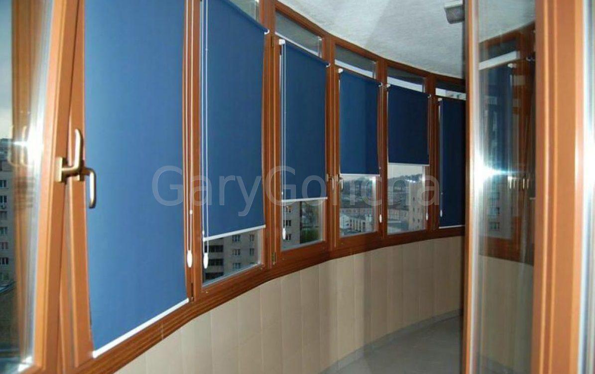 Рулонные шторы на балкон и лоджию: выбор, виды, преимущества.